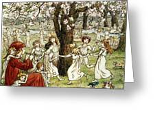 Browning: Pied Piper Greeting Card