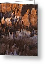Bryce Canyon National Park Hoodo Monoliths Sunrise Southern Utah Greeting Card