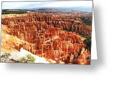 Bryce Canyon Vista Greeting Card