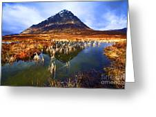 Buachaille Etive Mor Scotland Greeting Card by Craig B