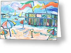 Buckroe Beach - En Plein Air Greeting Card