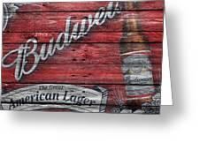 Budweiser Greeting Card