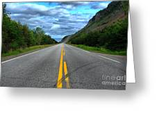 Cabot Trail Greeting Card