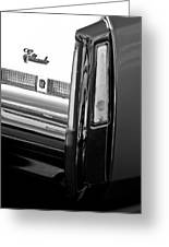 Cadillac Eldorado Taillights Greeting Card