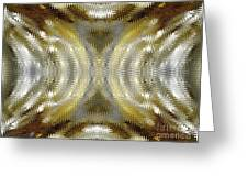 Cafe Au Lait Kaleidoscope Greeting Card