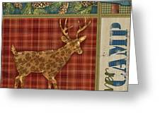 Camp Creek IIi Greeting Card by Paul Brent