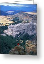 Camping On The Colorado Trail Greeting Card