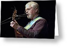 Canadian Folk Rocker Bruce Cockburn Greeting Card