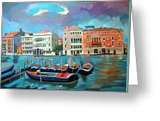 Canal Grande Greeting Card