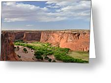 Canyon De Chelly From Sliding House Overlook Greeting Card