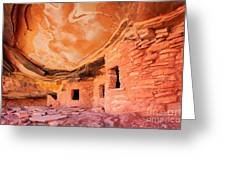 Canyon Ruins Greeting Card