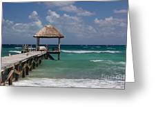 Caribbean Landing Greeting Card