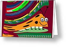 Cartoons Kids Love Electronic Survillance Organic Spy Agents Greeting Card