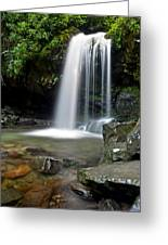 Cascading Falls Greeting Card