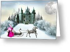 Castles Fantasy Greeting Card
