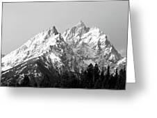 Cathedral Group Grand Teton National Greeting Card