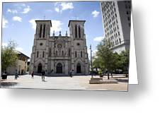 Cathedral Of San Fernando Greeting Card