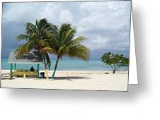 Cayman Beach Greeting Card