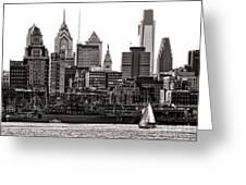 Center City Philadelphia Greeting Card