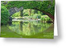 Central Park Gapstow Bridge II Greeting Card