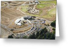 Chambers Bay Golf Course, University Greeting Card