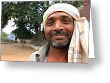 Chanderi Man Greeting Card