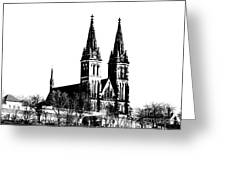Chapter Church Of St Peter And Paul Greeting Card