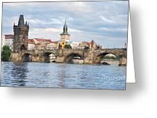 Charles Bridge In  Prague Greeting Card