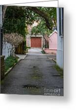 Charleston Alley Greeting Card
