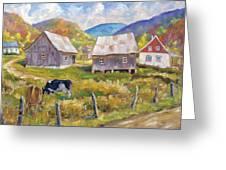 Charlevoix North Greeting Card