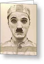 Vintage Charlie Chaplin Greeting Card