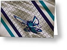 Charlotte Hornets Uniform Greeting Card