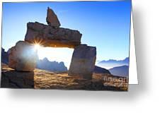 Charming Dolomites Greeting Card