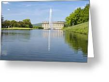 Chatsworth House Greeting Card