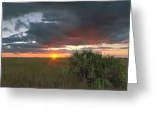 Chekili Sunset Greeting Card