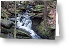 Chesterfield Gorge Greeting Card