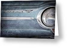 Chevrolet Corvair Emblem Greeting Card