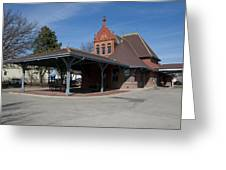 Chicago Rock Island Pacific Railway Depot Greeting Card