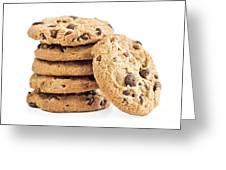 Chocolate Chip Cookies Greeting Card