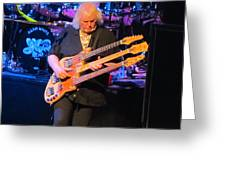 Chris Squire Of Yes Greeting Card