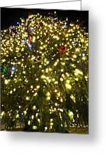 Christmas Tree Ornaments Faneuil Hall Tree Boston Greeting Card