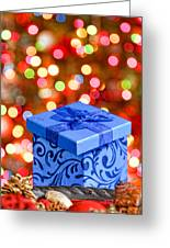 Christmas Box Greeting Card
