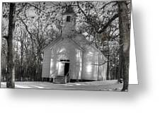 Church In The Cove Greeting Card