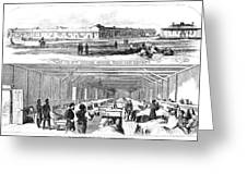 Civil War Hospital Greeting Card