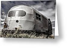 Classic Airstream Caravan Greeting Card