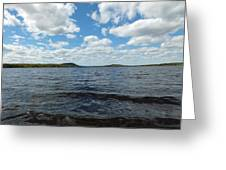 Clearing Sky Greeting Card