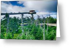 Clingmans Dome - Great Smoky Mountains National Park Greeting Card