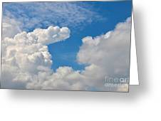 Clouds In The Sky Greeting Card