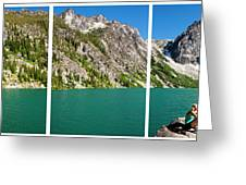 Colchuck Lake, Alpine Lakes Wilderness Greeting Card