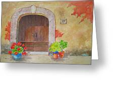 Color Me Tuscany Greeting Card